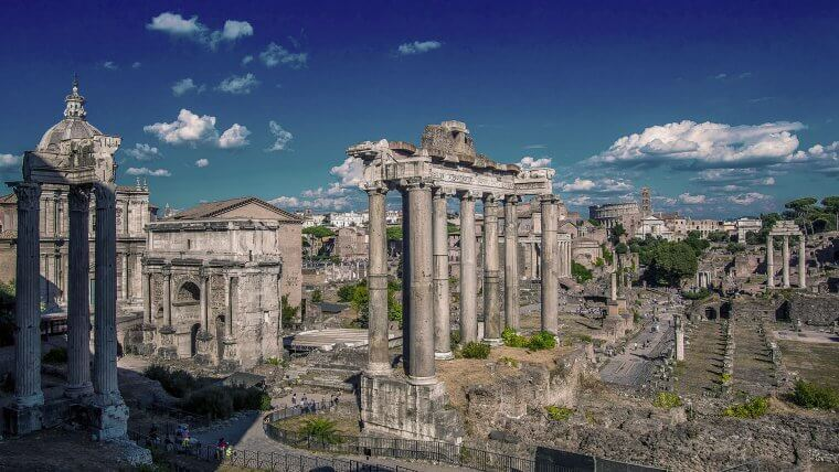 ancient roman architecture foro italico