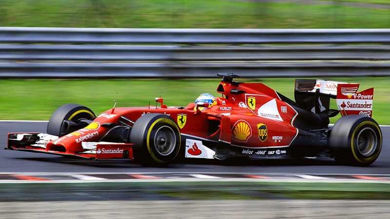 sports in italy formula 1