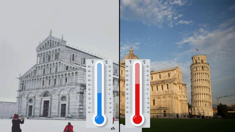 Weather in Pisa Italy