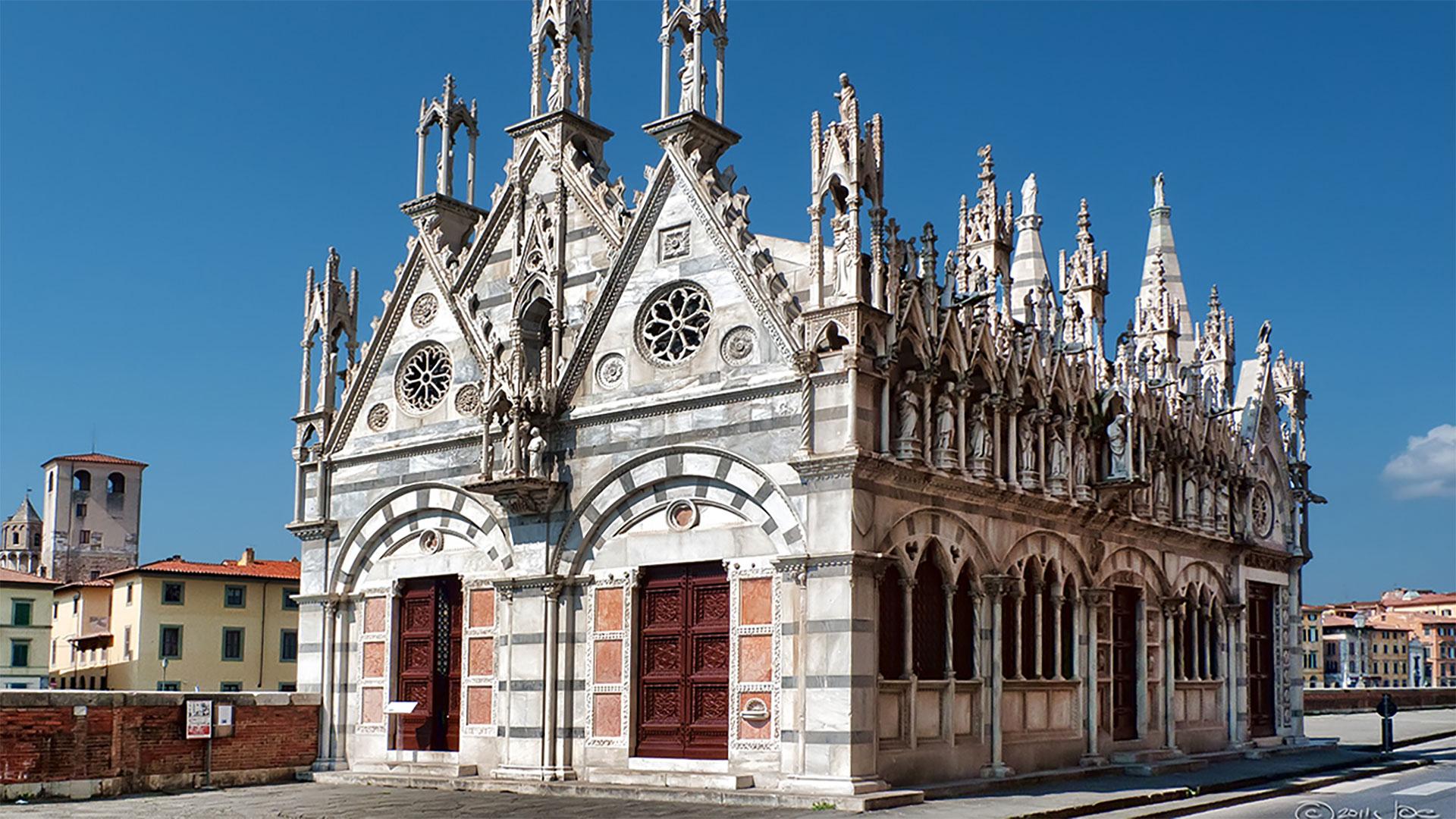 Santa Maria della Spina Church Pisa