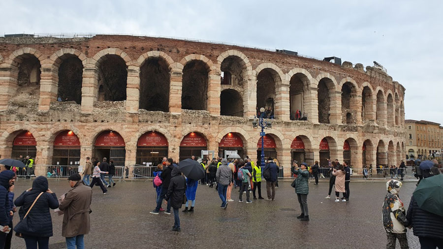 Arena Verona city guide