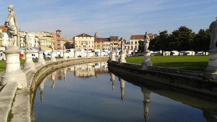 Padua Italy Map