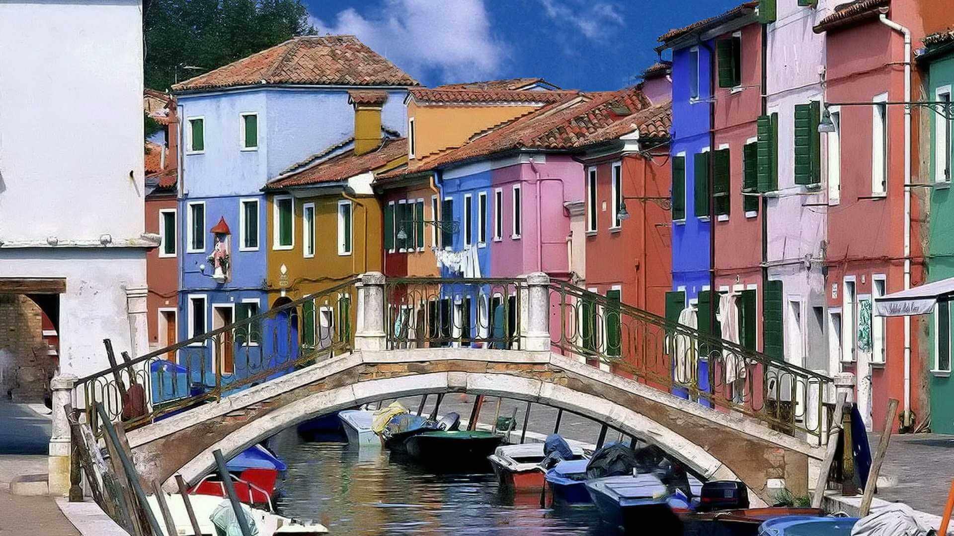 picturesque venice canals