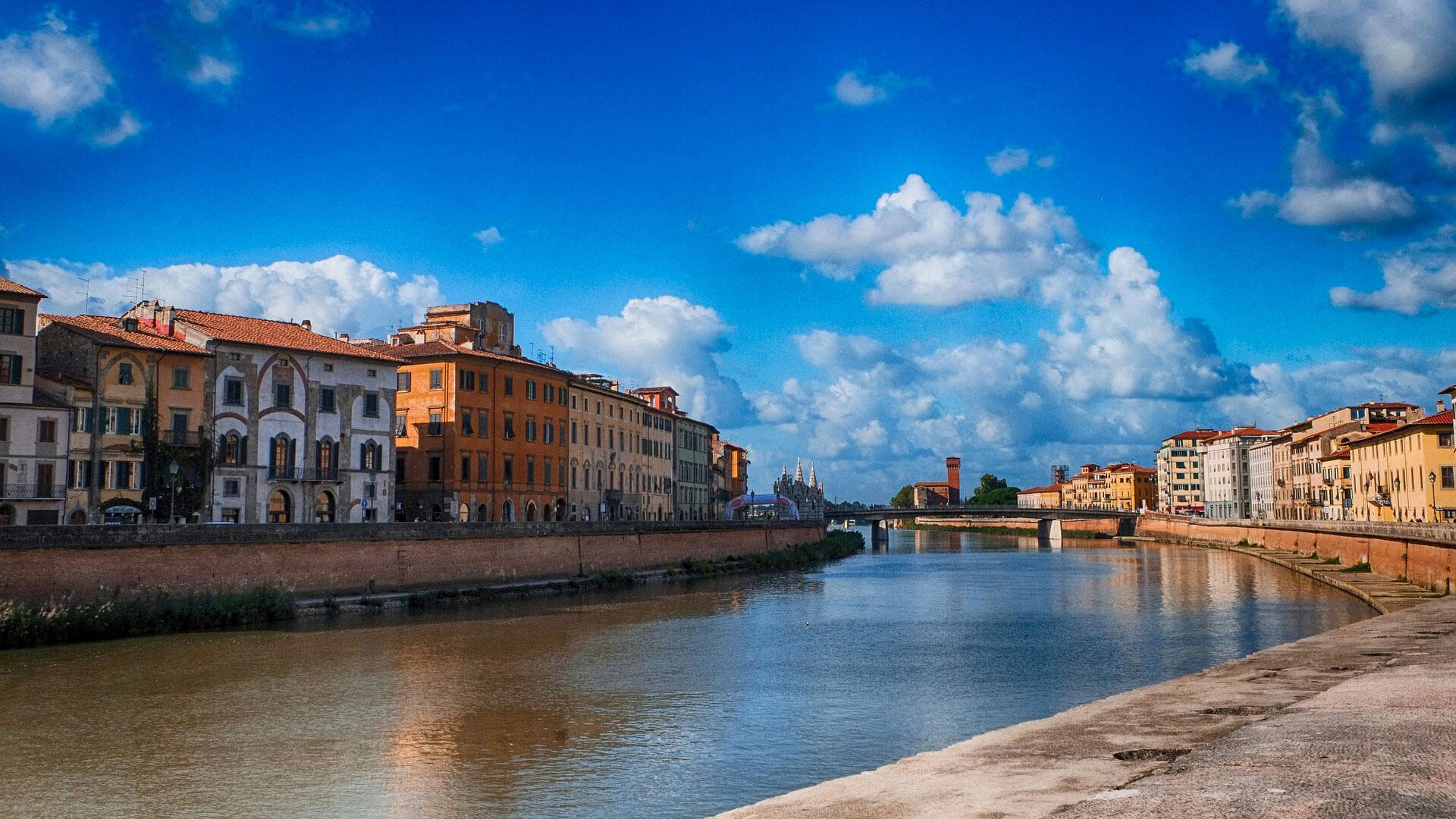 Pisa River Arno
