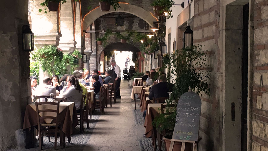 restaurants in verona just italy