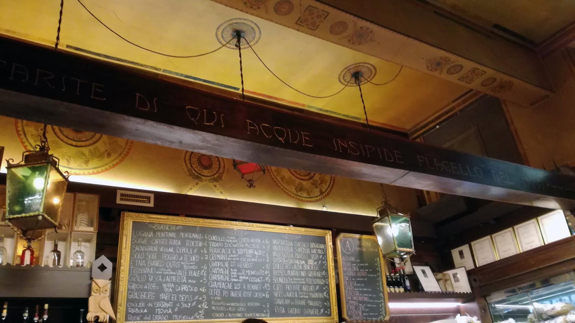 Verona Italy wine bar