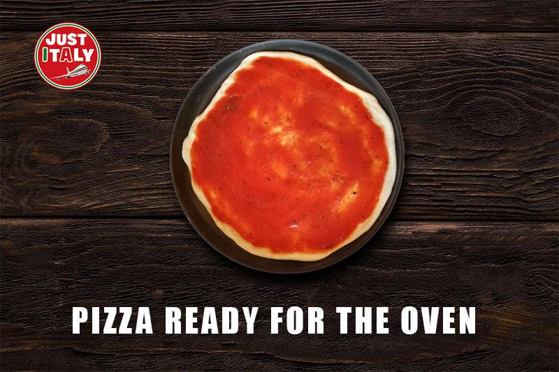 Authentic Italian homemade Pizza Baking