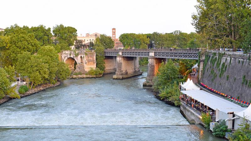 Ponte Palatino Rome 3 days itinerary