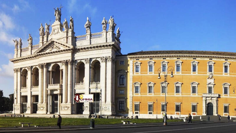 St John Lateran Redemption omnia card Rome