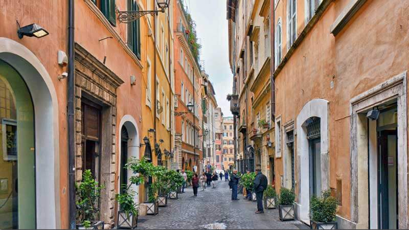 Trastevere Best Area to Stay in Rome
