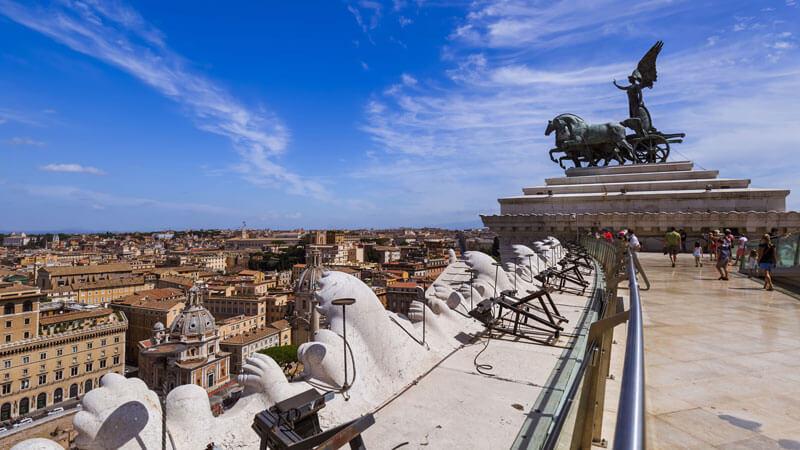 altare della patria lift 3 days in rome