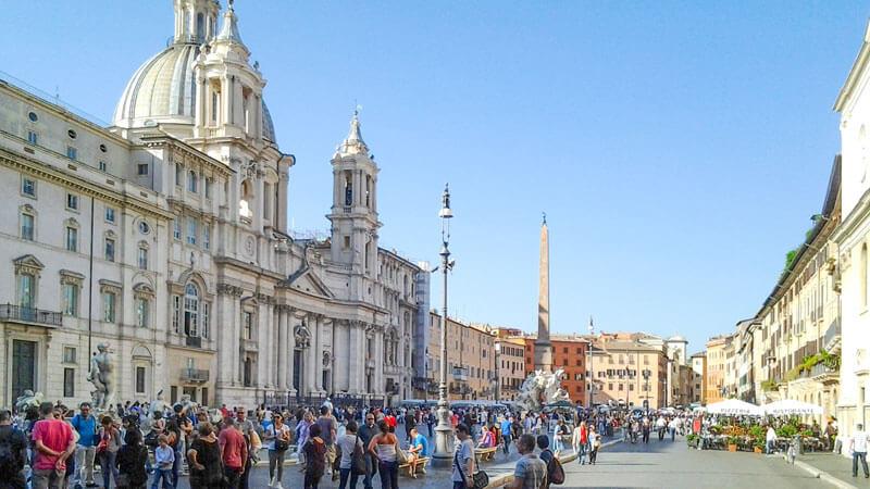 Piazza Navona Rome Day 2
