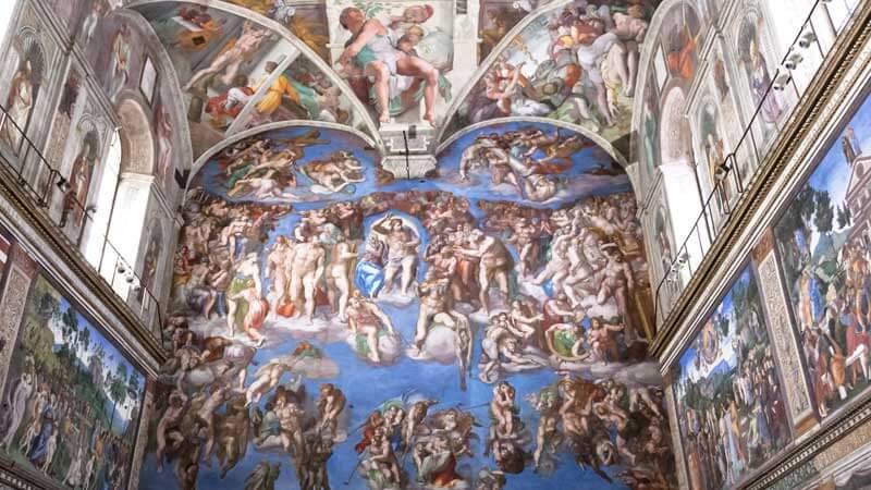 Sistine Chapel Cappella Sistina Rome Vatican City
