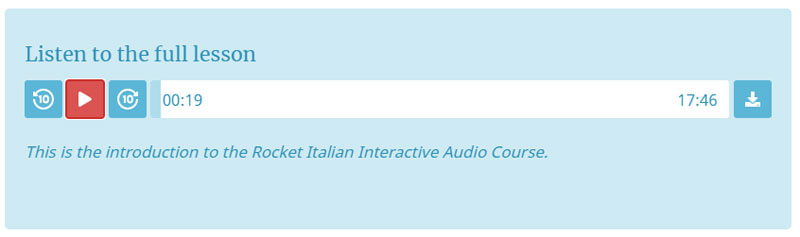 Rocket Italian Download Mp3